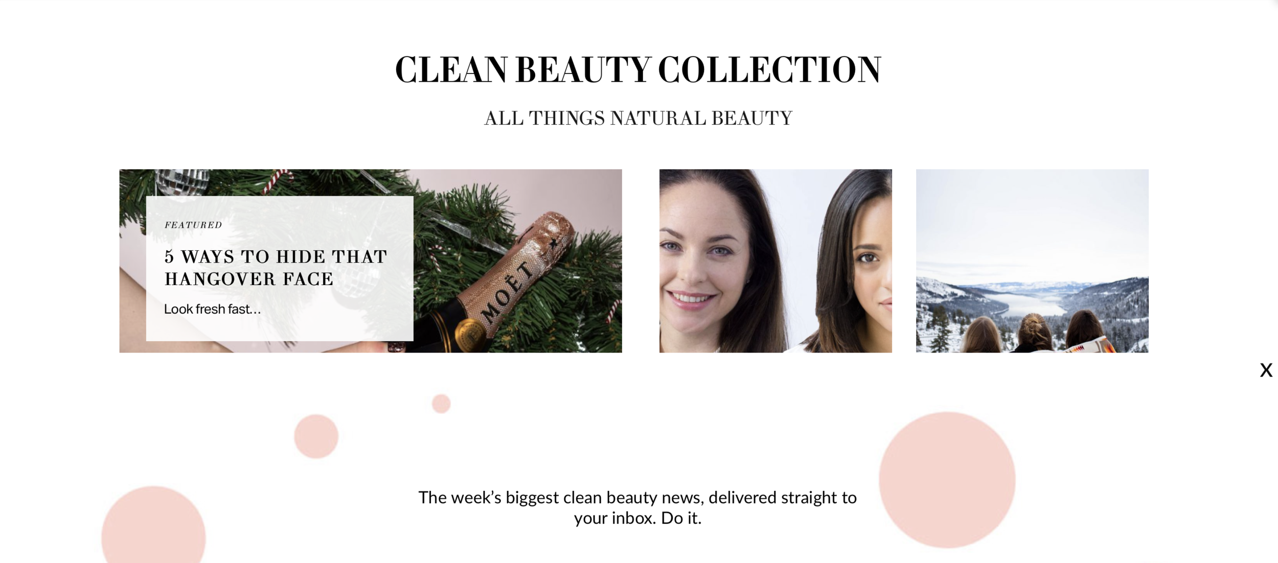 Taken from  The Clean Beauty Co feature.