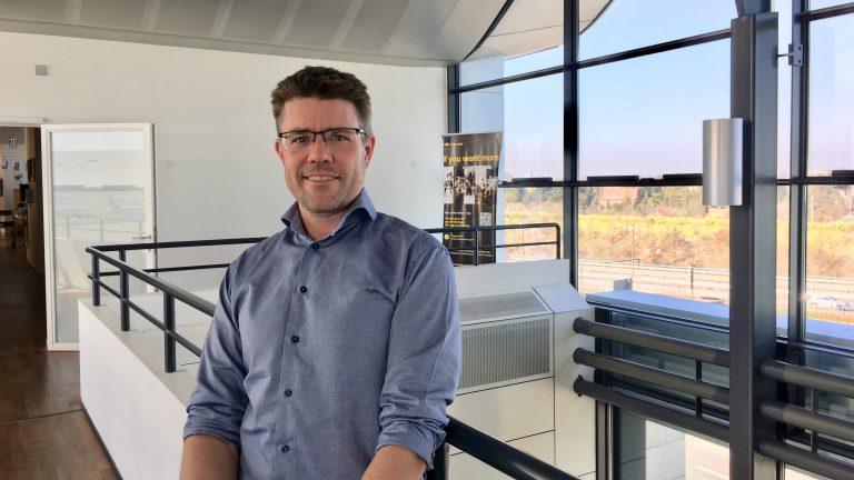Michael Ørsted, afdelingsleder i Københavns Lufthavne