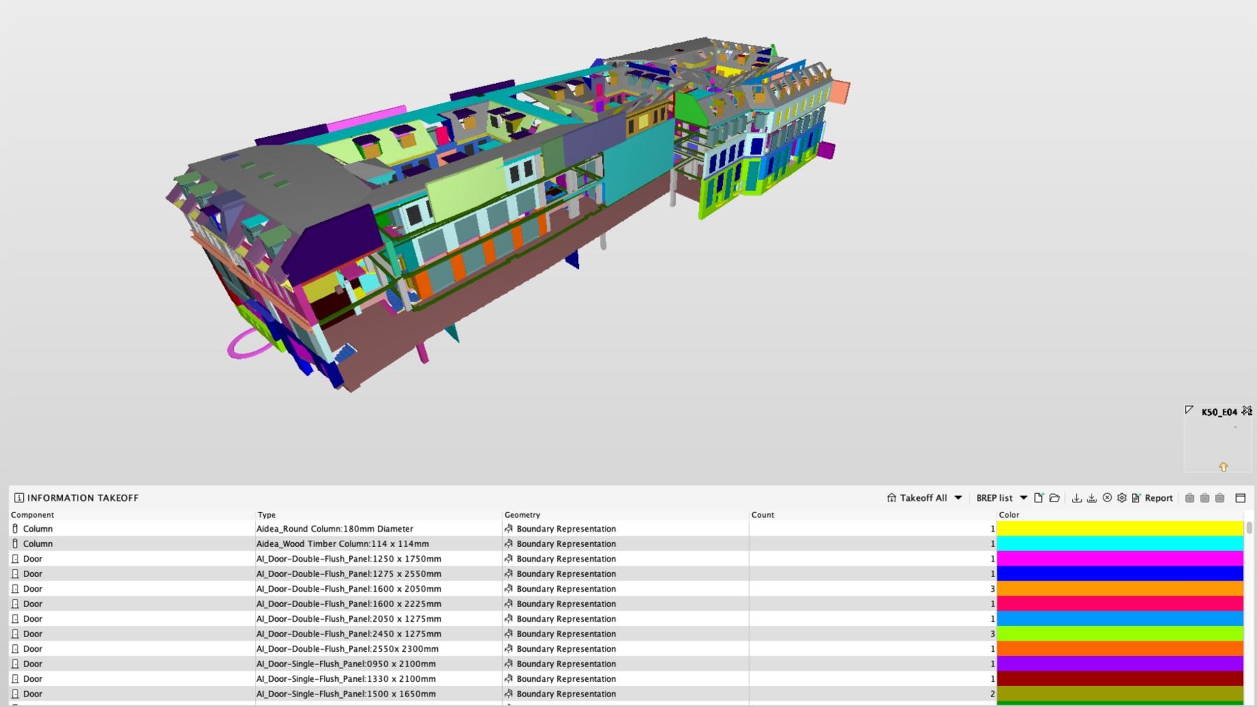 Det digitale grundlag - BIM Equity leverer modeller hovedsageligt til brug for skitsering, projektering, drift/vedligehold eller Space Management.Datagrundlaget for modelleringen kan være eksisterende tegninger, landmåler-data, fotogrammetri eller point clouds, som vi i samarbejde med vores faste samarbejdspartner LE34 også kan levere. Vi har lang erfaring med at modellere efter data fra forskellige teknologier såsom; trolleys, statisk skannere, droner og traditionel landmåling.3D-modellerne udføres i både Revit, Allplan og ARCHICAD hvor vi også kan levere DWG, PDF og IFC.