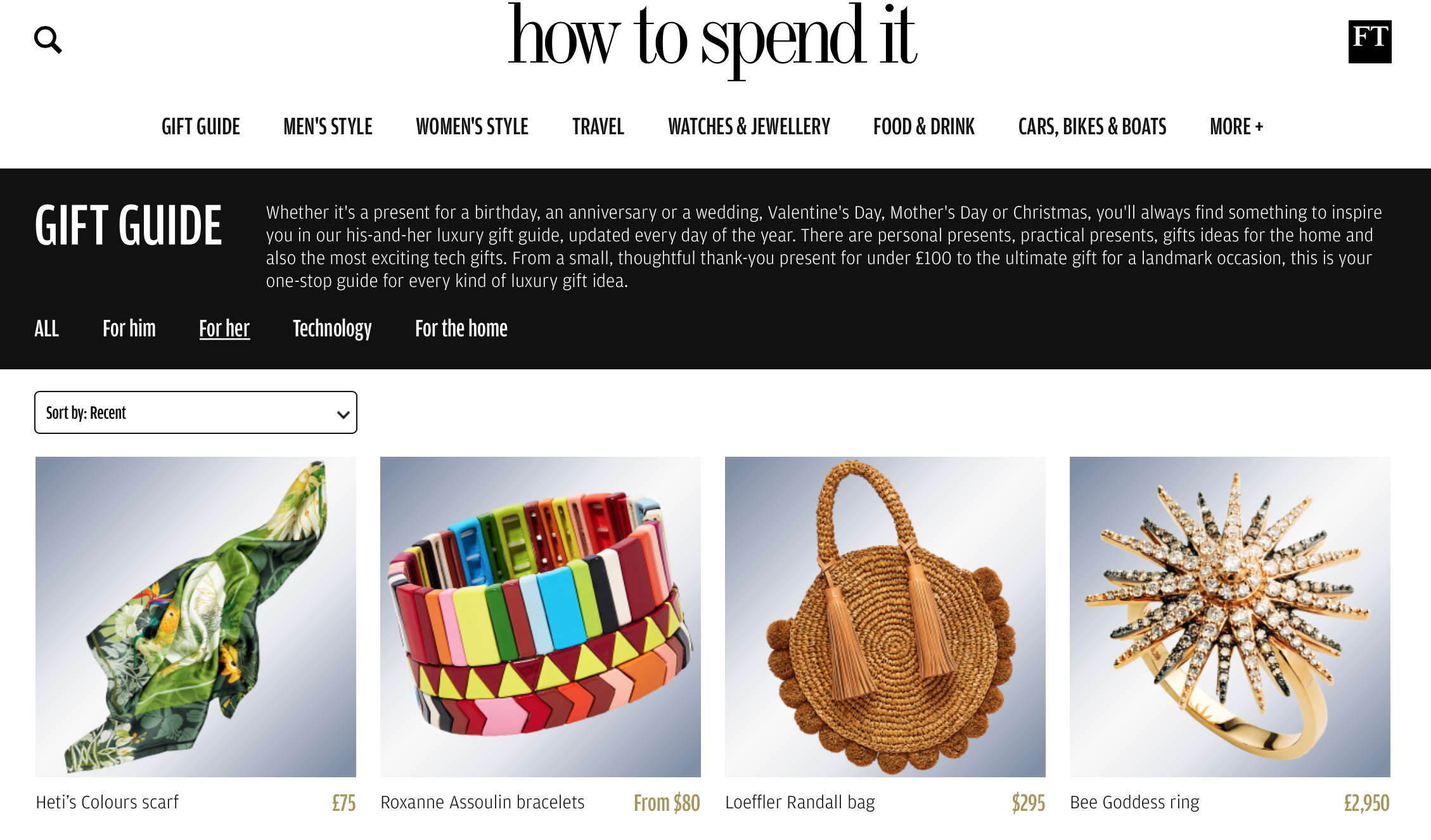 Financial Times How To Spend It Heti's Colours