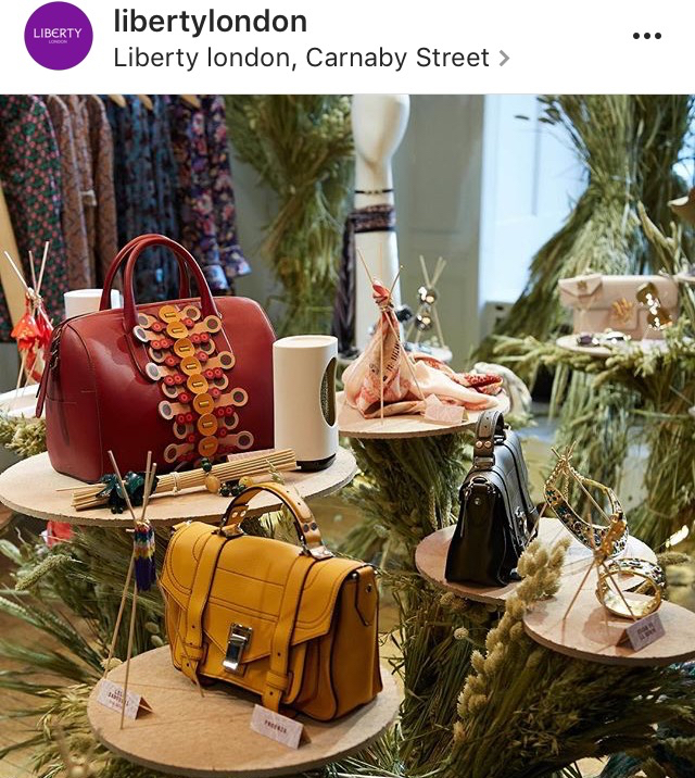 Heti's Colours featured in Liberty London's Pick of The Season: SS17 Pre-Collection Press Day