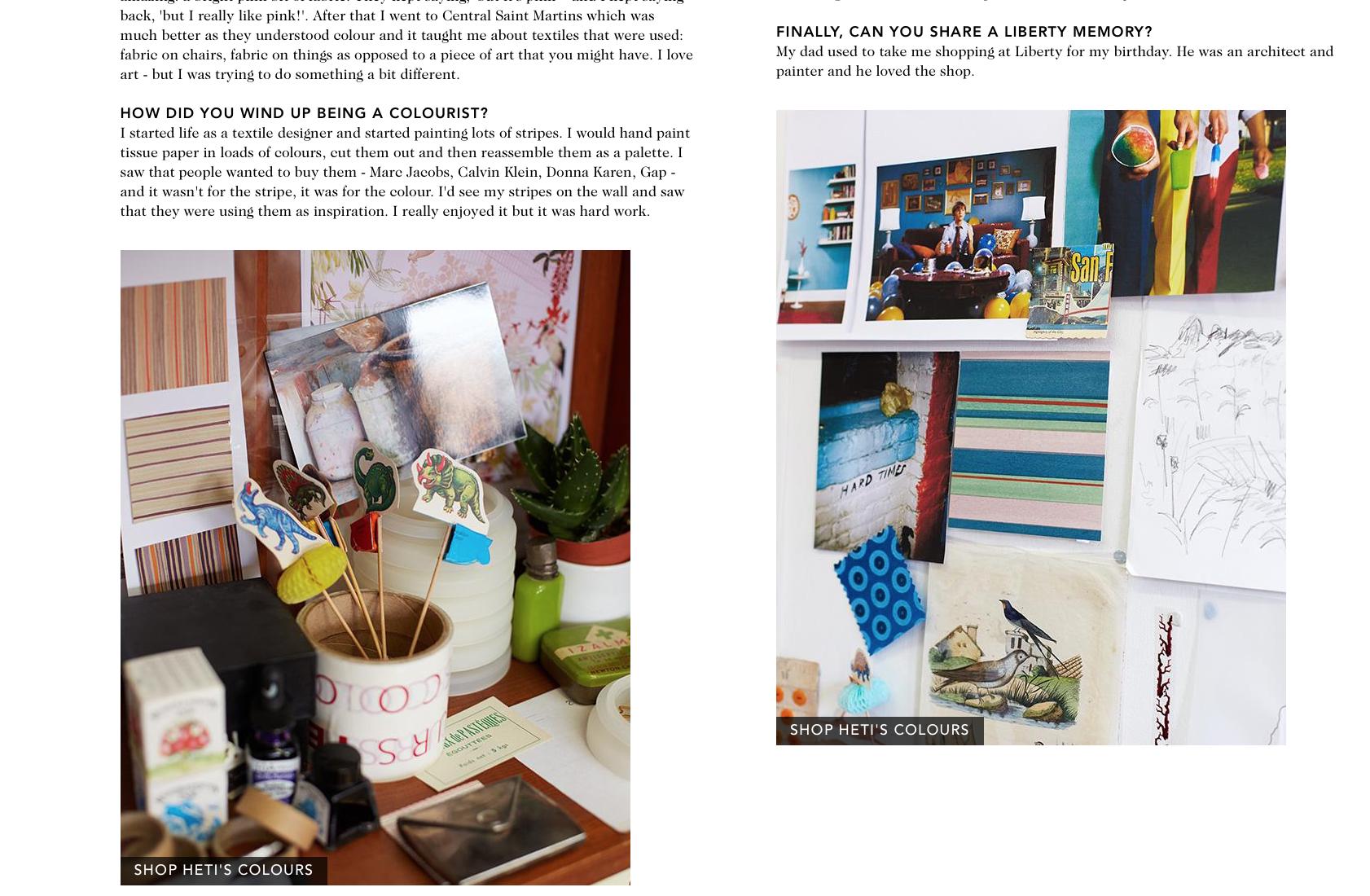 Liberty London Luxury Designer Scarves Heti's colours colour textiles Design Studio