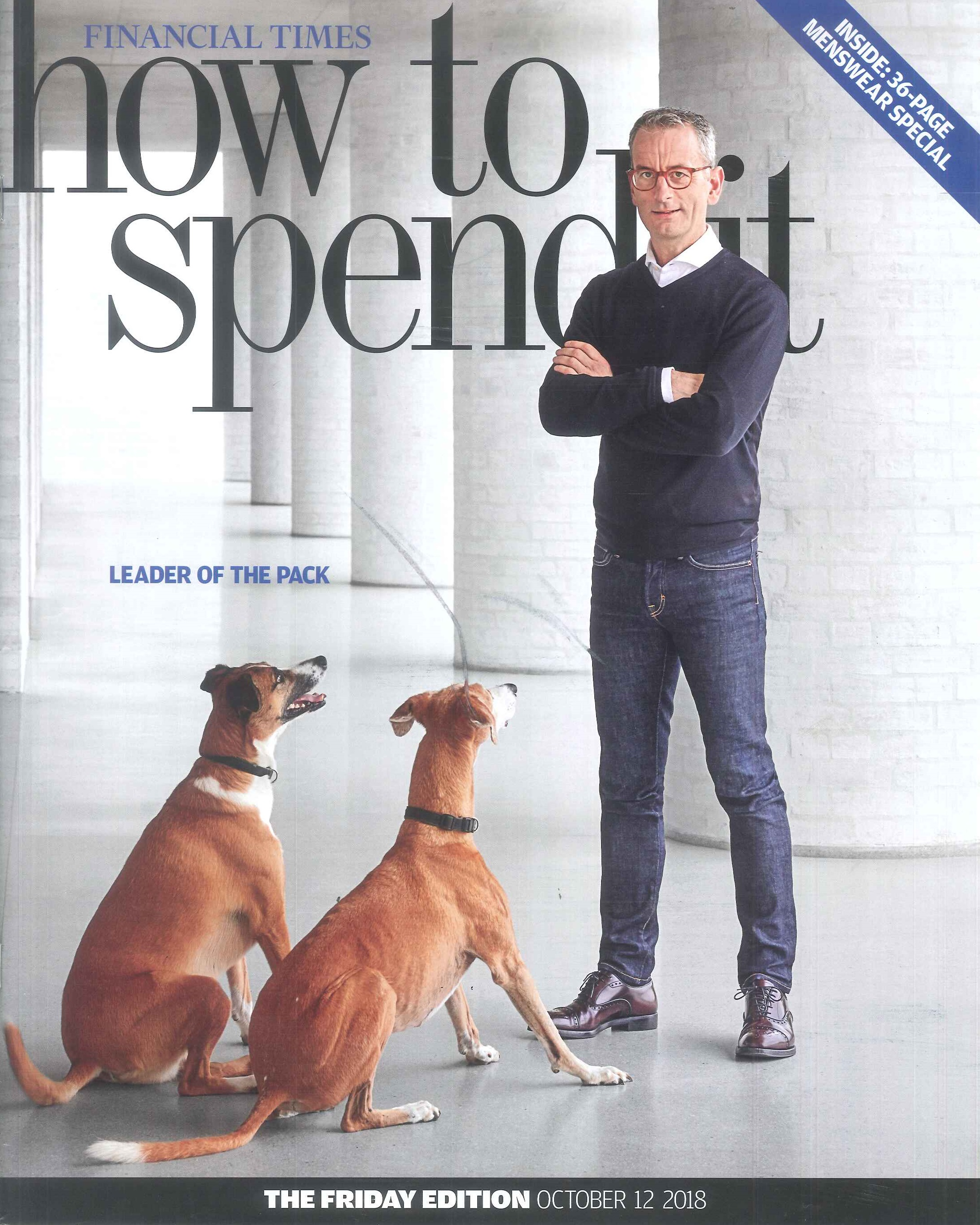 Copy of Financial Times How To Spend It October 2018
