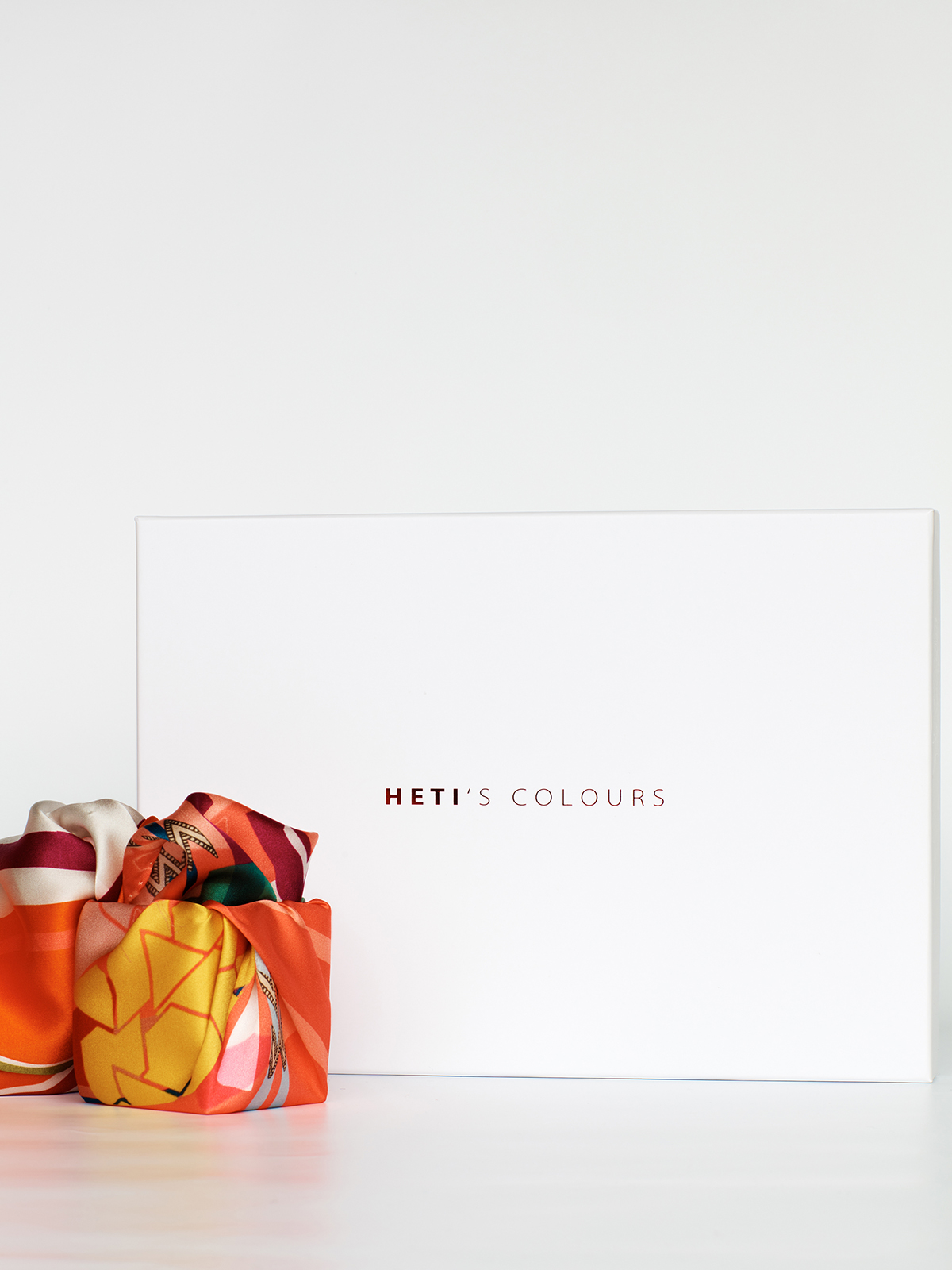 SS19 Silk Scarves Heti's Colours