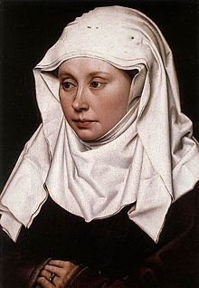Portrait of a Woman, 1430-1435  Robert Camin (wearing a wimple)