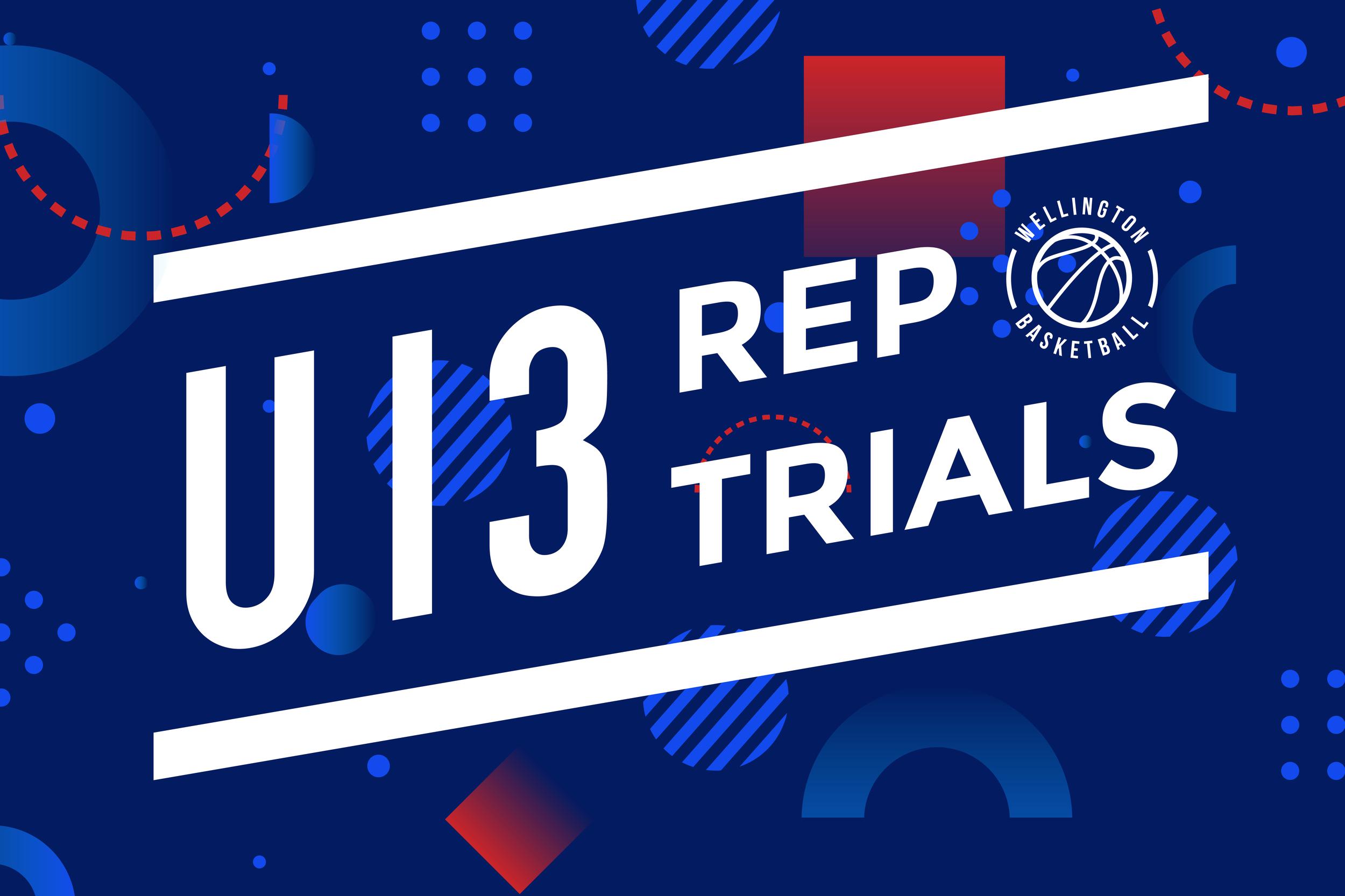 Wellington U13 Rep Trials