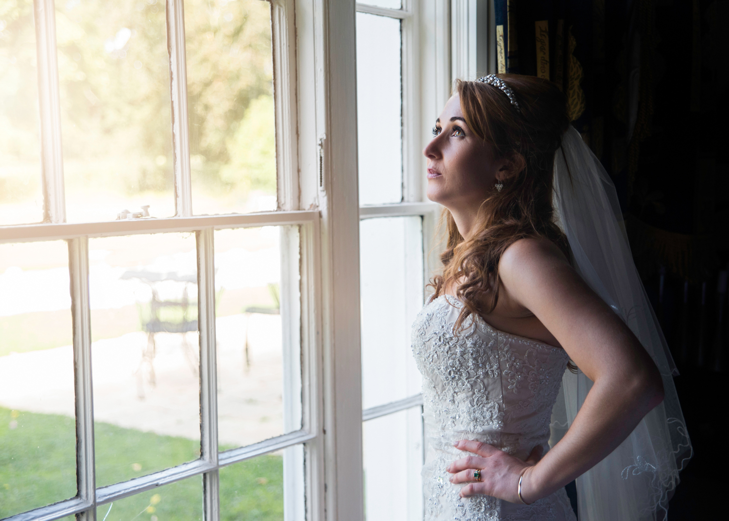 Bridal Portrait | Pentre Mawr Country House