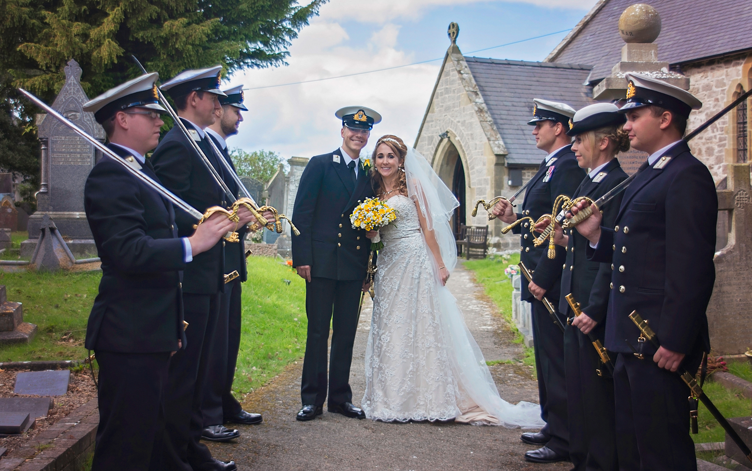 Honour guard wedding | St Cynfran