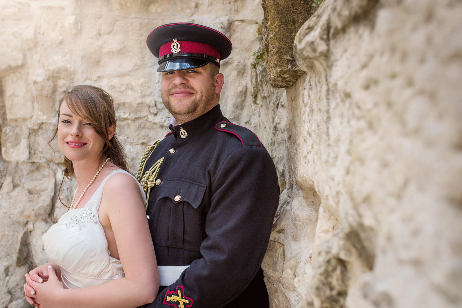 Couple posing down by River Arun in Arundel | Sussex photographer