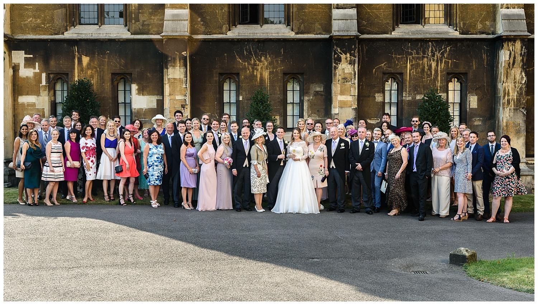 Wedding Group Shot | Lambeth Palace | Surrey and London Wedding Photographer