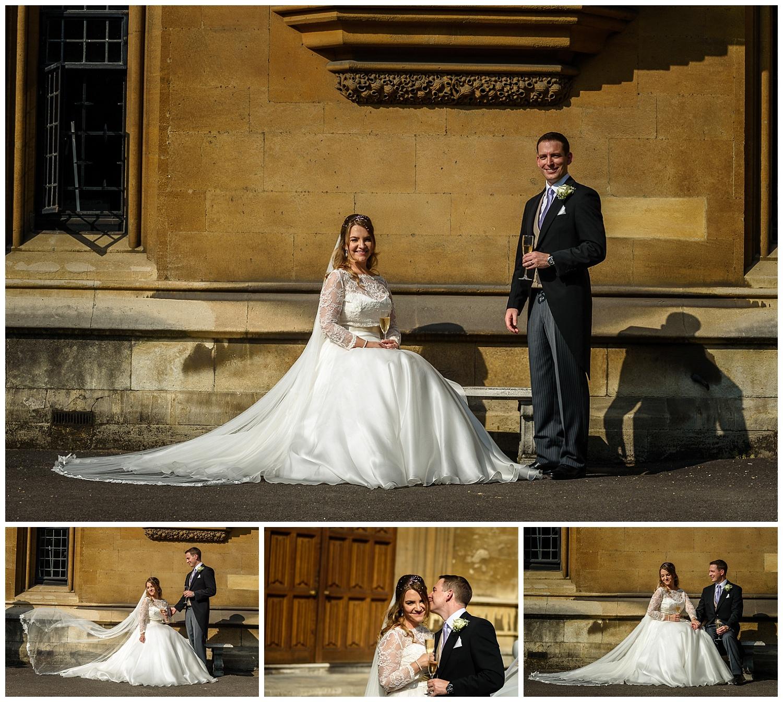Bride and Groom Portrait | Lambeth Palace | Surrey and London Wedding Photographer