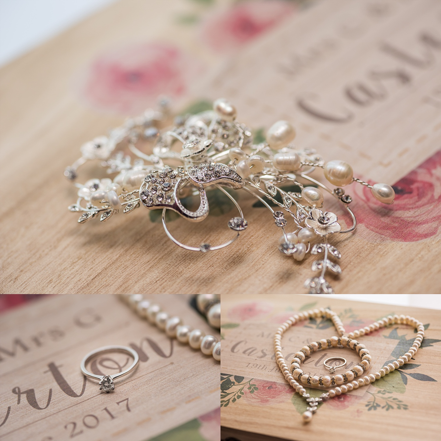Exquisite shots of bridal details prep