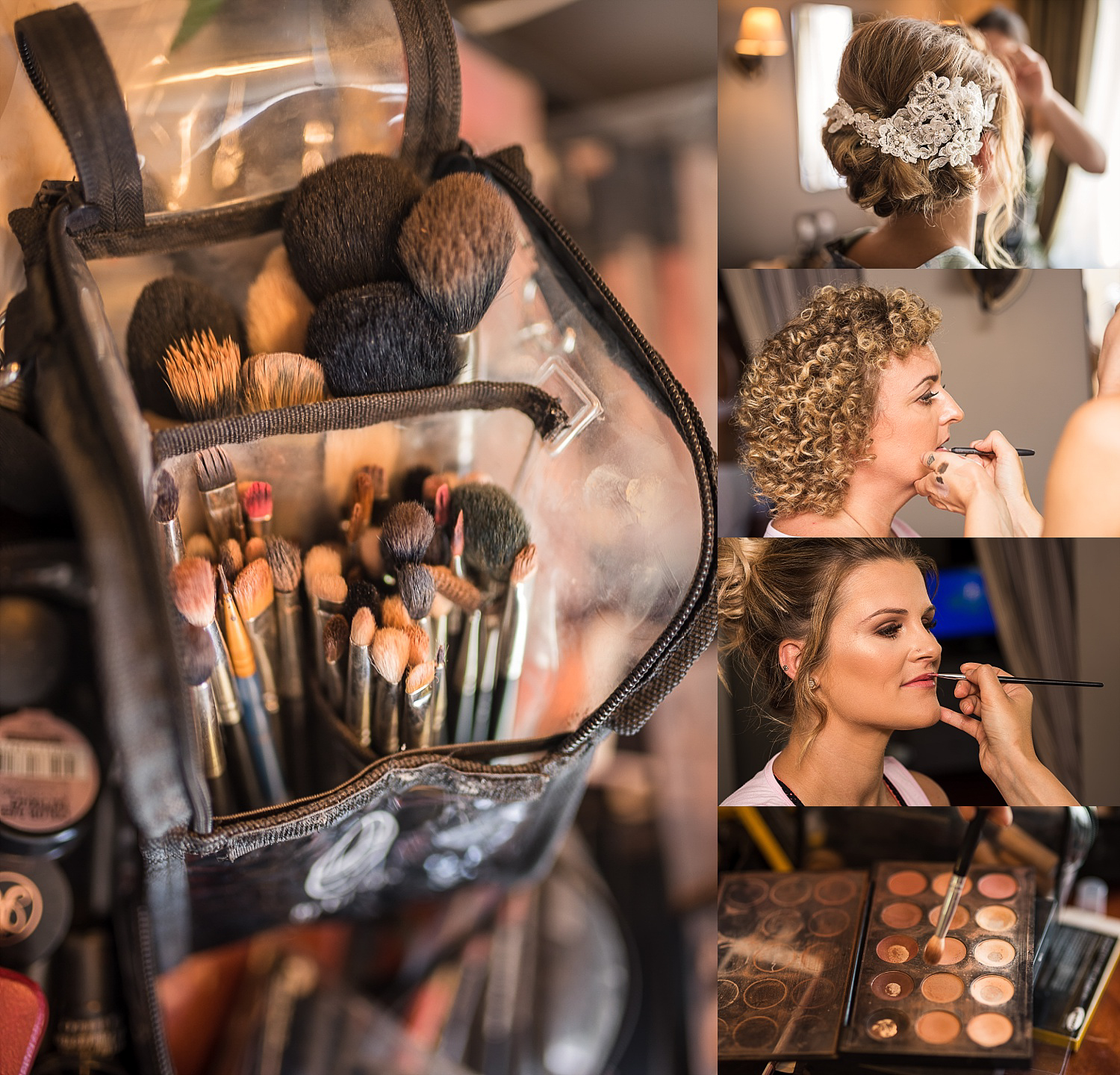 hair and makeup prep clumber park hotel