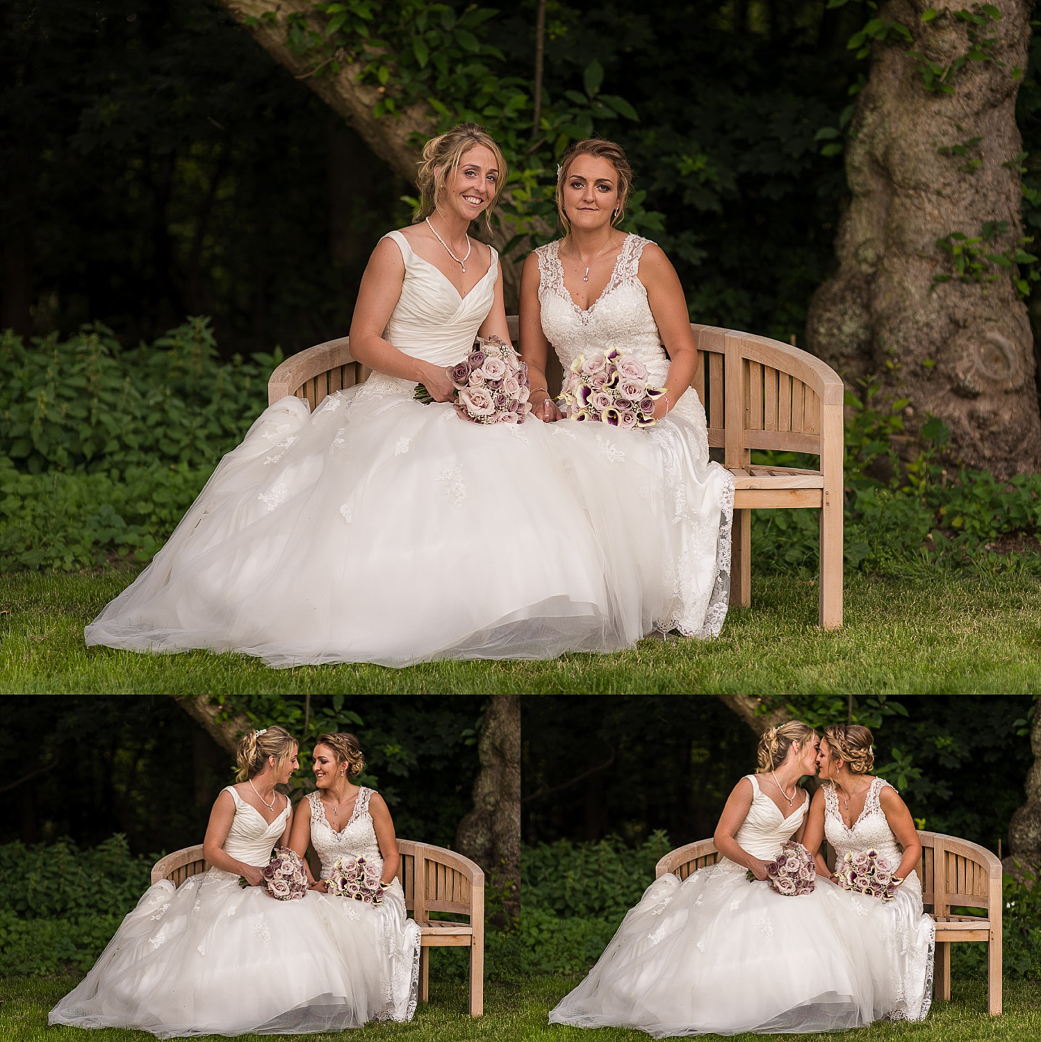 LGBT wedding at Hazel Gap Barn