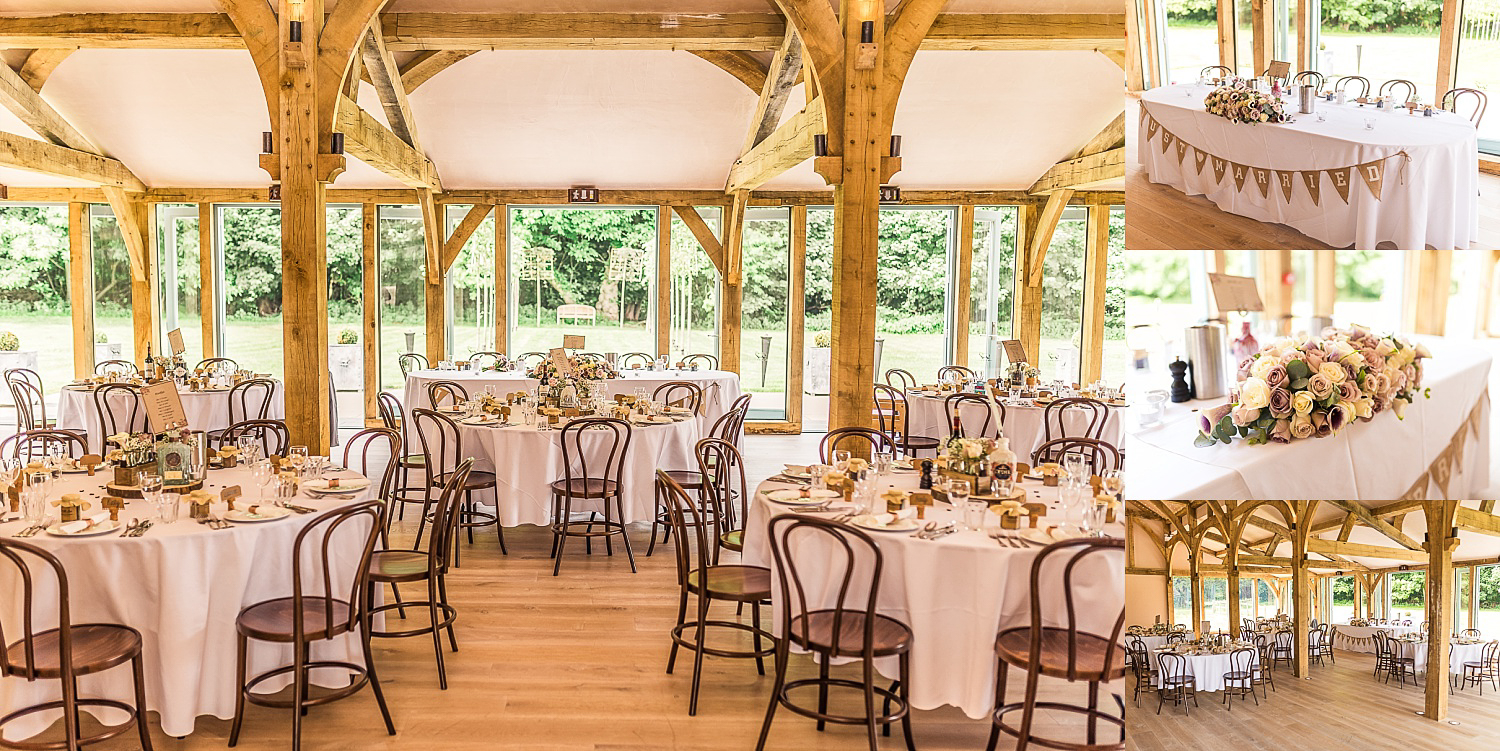 beautiful reception venue Hazel Gap Barn