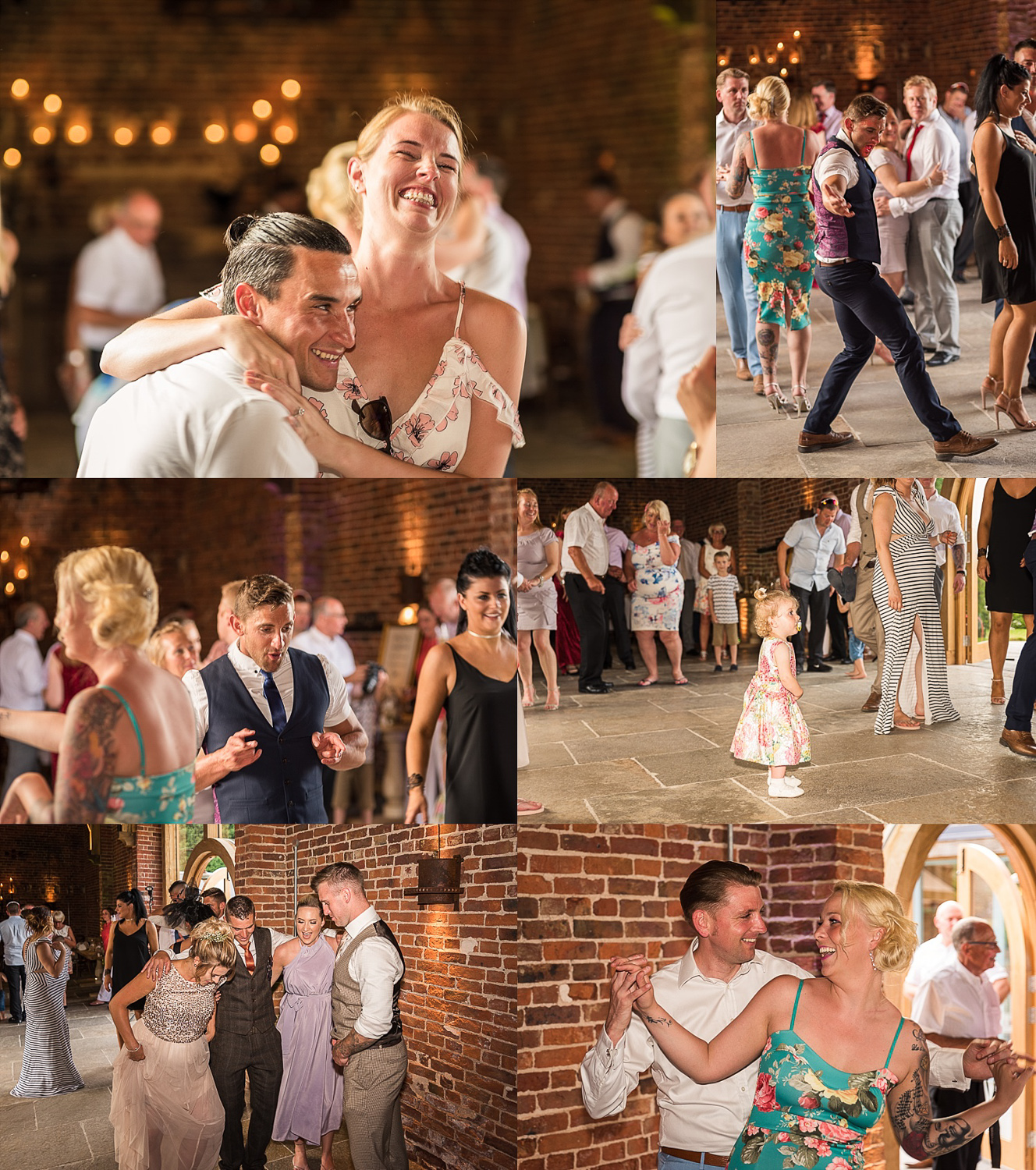 great captured images of wedding guests dancing
