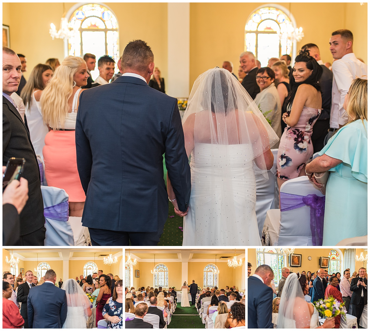 Glenmore house | Brother walking Bride down the aisle