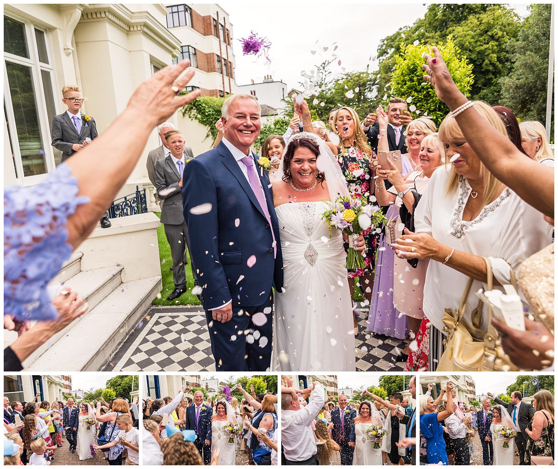 Confetti Aisle wedding photos