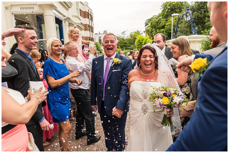 Confetti Aisle | Glenmore House | Wedding Photographer