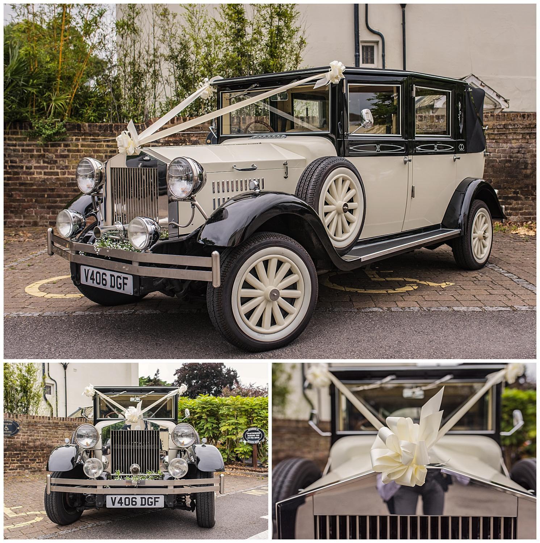 Surrey Wedding car