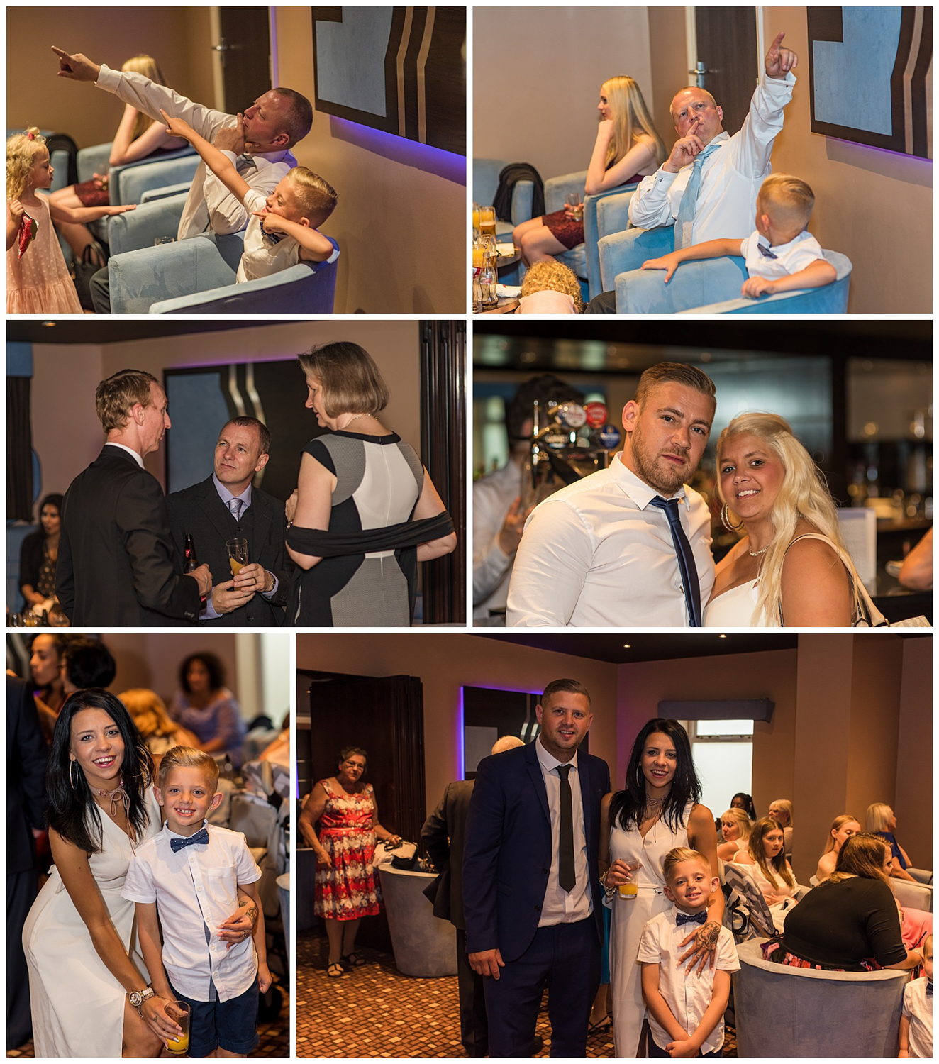 wedding guests | Glenmore House bar
