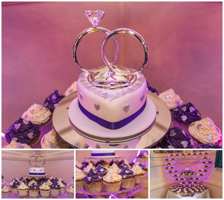 wedding cake details | Surbiton wedding