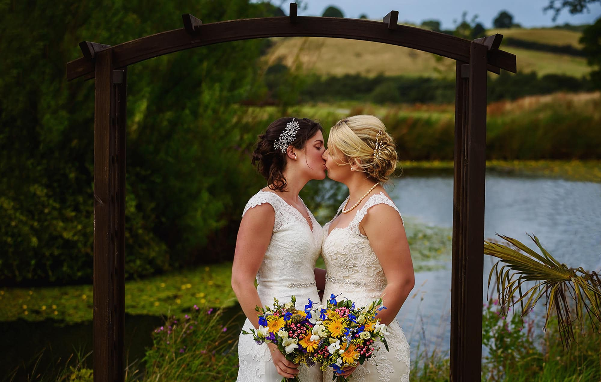Emily and Kerry, Ox Pasture, Yorkshire -