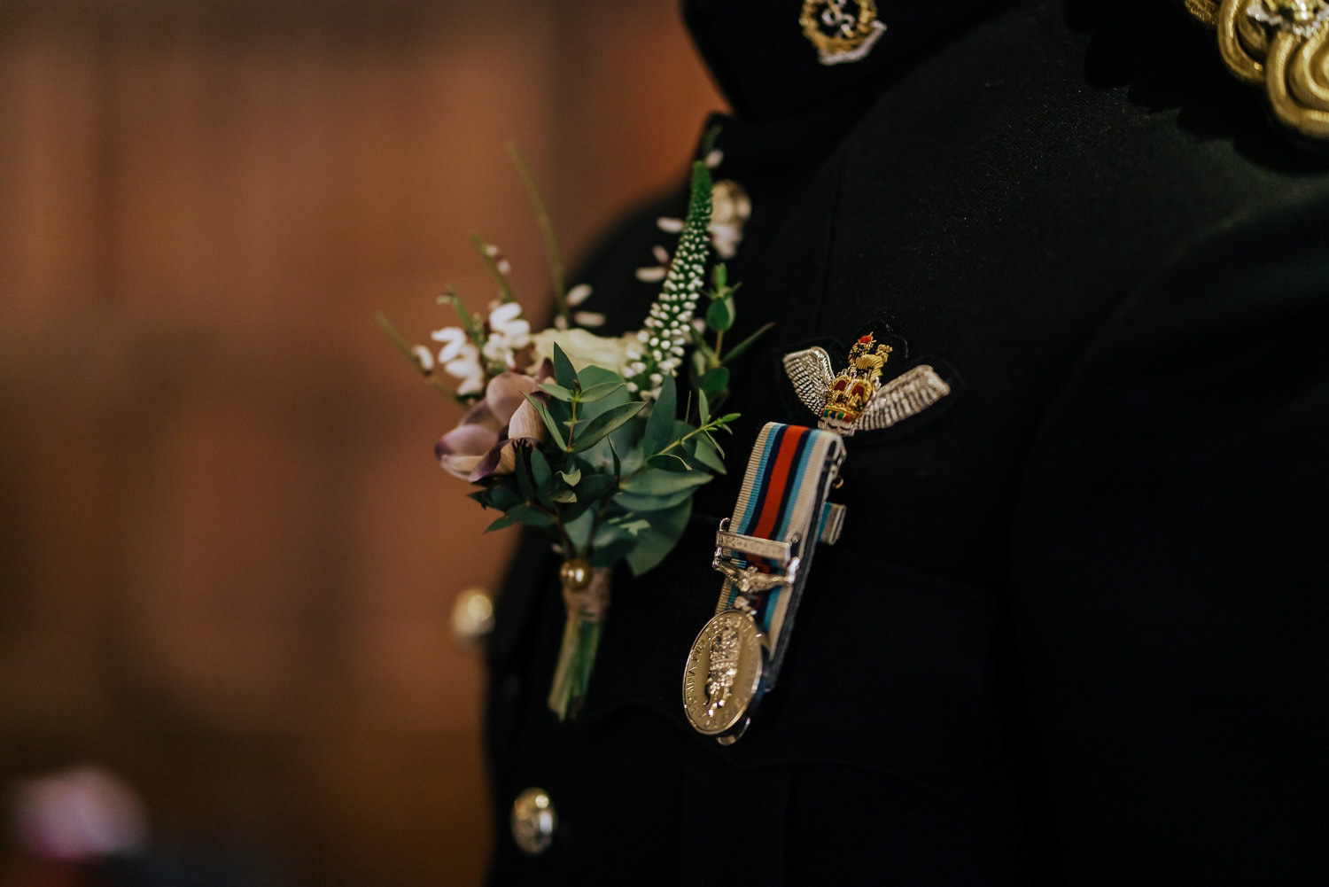 military-wedding-uniform-boutonniere