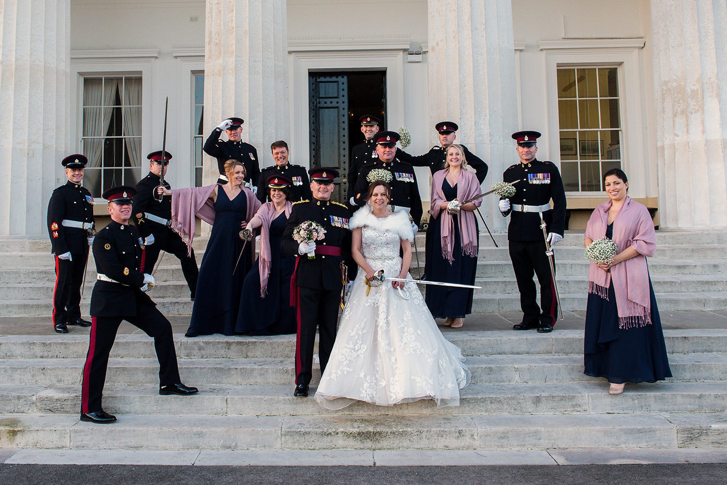 old-college-steps-Sandhurst-wedding-photos.jpg