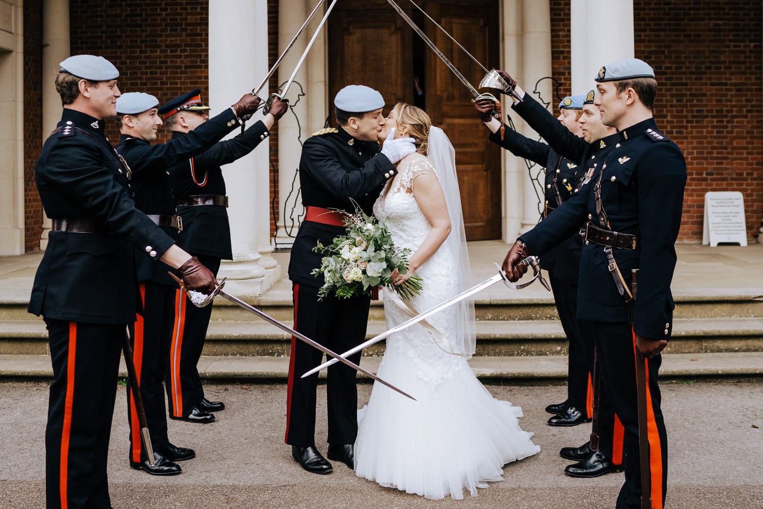 Military Wedding photographer -
