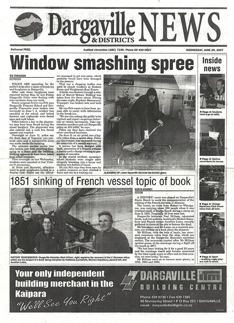 Alcmene Article - Dagarville News