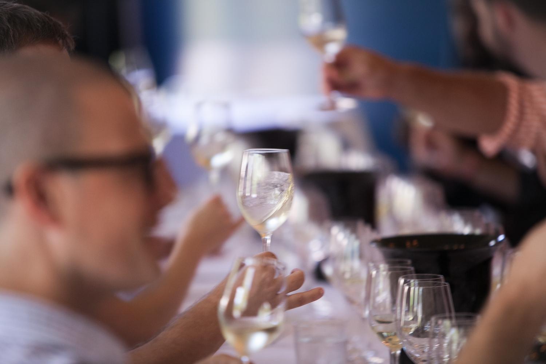 Grassroots Wine tasting luncheon
