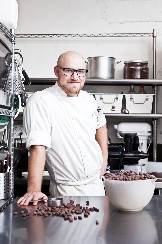 Michael Hoffman of Bitte Chocolate