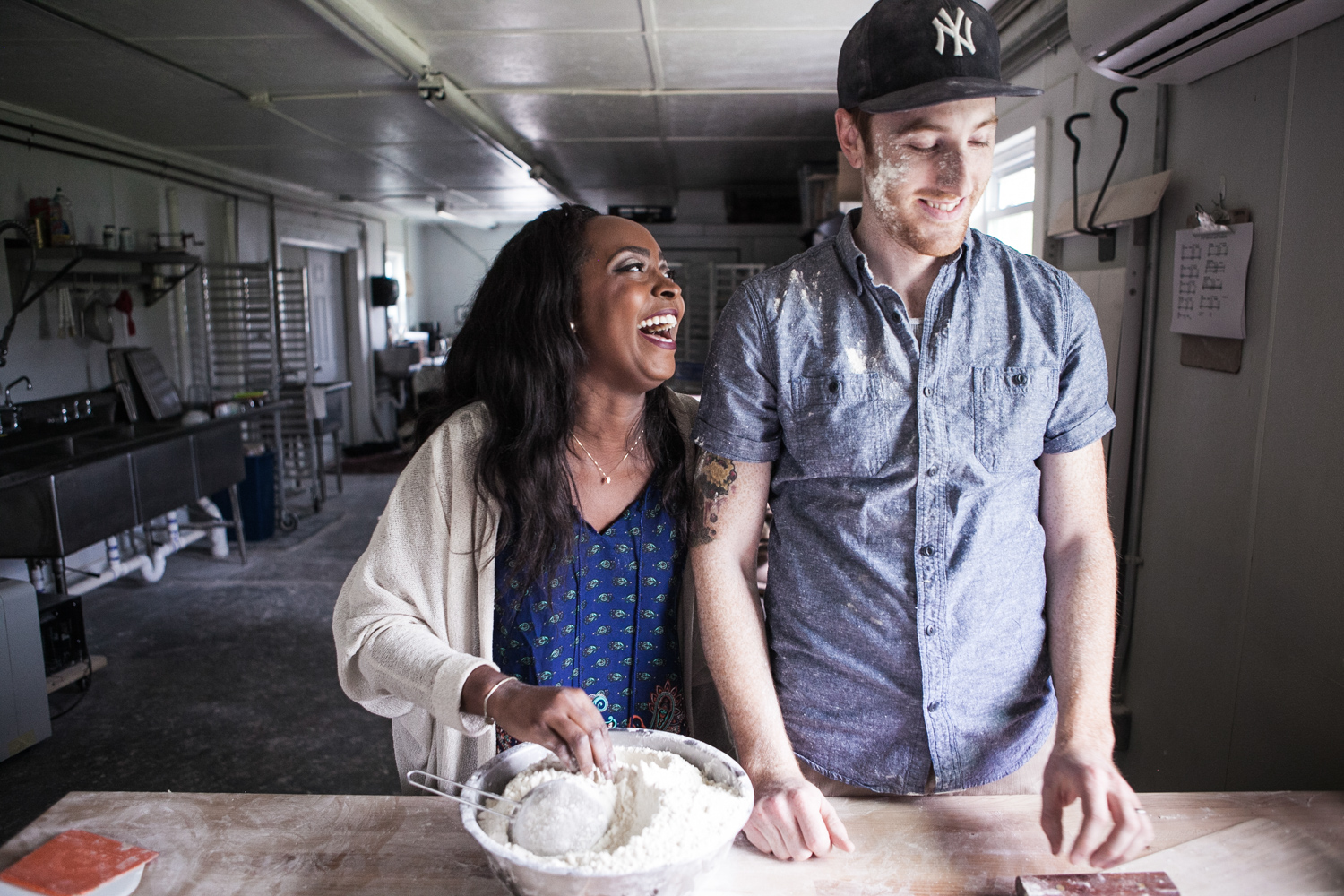 Chris and Nicole Wilkins of Root Baking Co.