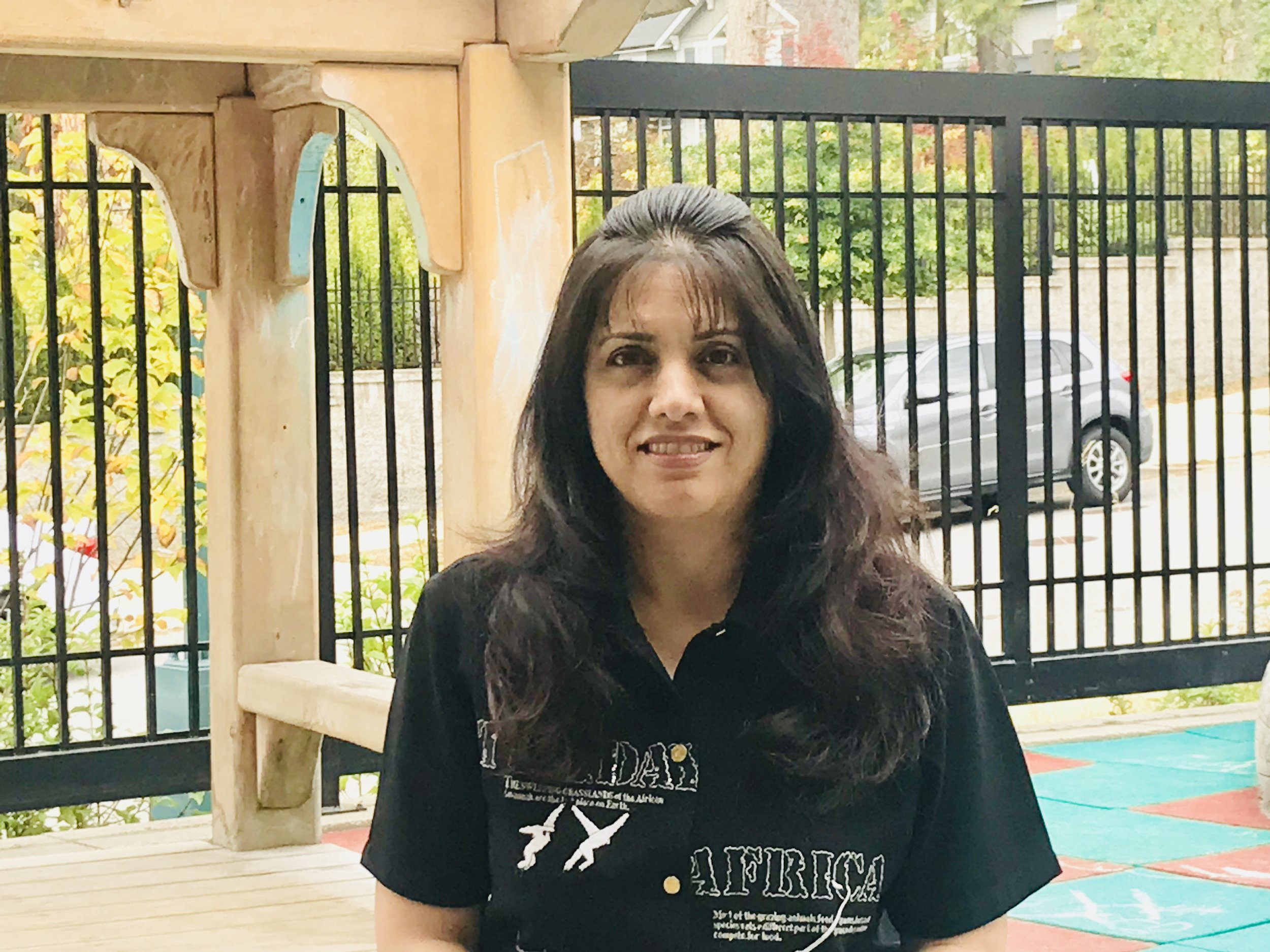 Ms. Roya - I am a true lover of kids. I am a certified Early Childhood Educator teacher with 20+ years of experience. I obtained my certificates from Bow Valley and Vancouver Career Colleges plus my degree and a PTC certificate from overseas. I am also a member of BC Montessori Association of Teachers. I speak English and Farsi. My strengths include the ability of boosting morale and transferring concepts to kids in exceptional attractive ways.