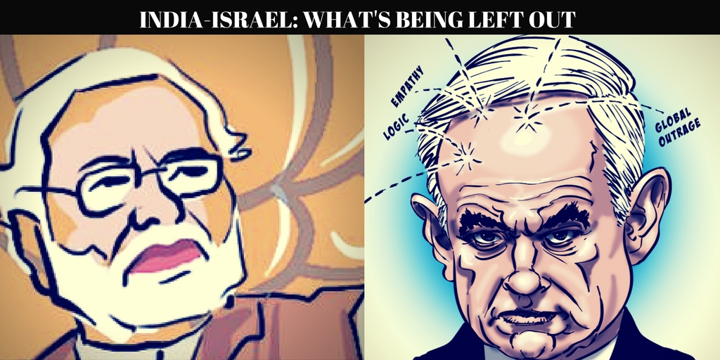 INDIA-ISRAEL:WHERE DOES PALESTINE FIT IN?