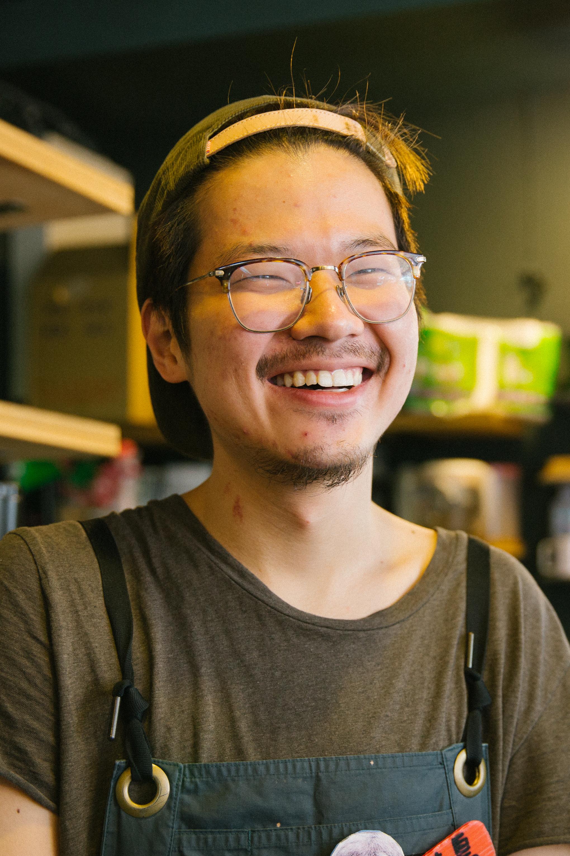 Luke Hsueh, 22, is a freelance actor.