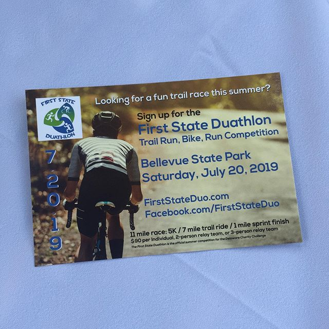 Our fun run-bike-run duathlon returns to @bellevuestatepark next month on July 20! Compete as an individual or with a 2- or 3-person relay team. #SignUpToday #FirstStateDuo