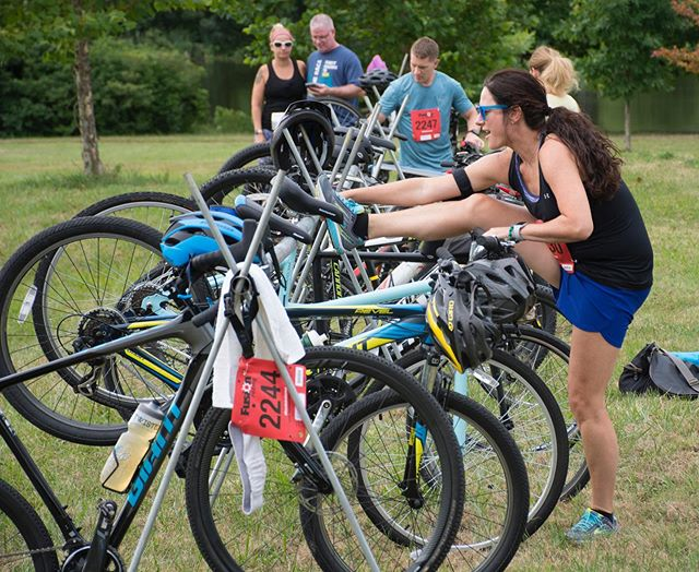 Are you warmed up for the big race? The 2019 first state duathlon is less than two weeks away. We'll see you at the starting line #firststateduo #duathlon #run #bike #race