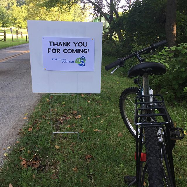 Thank you to everyone who ran, rode, volunteered, cheered on, or otherwise played a part in our First State Duathlon! It was a lot of fun on a hot day and we hope to see many of you back at @bellevuestatepark for next year's #duathlon or one of our other #DelawareCharityChallenge competitions! #thankyou #firststateduo #challengeDE #runbikerun