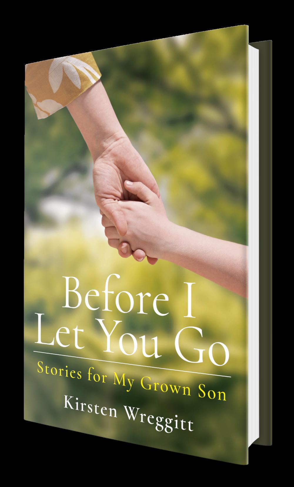 Before I Let You Go Kirsten Wreggitt book
