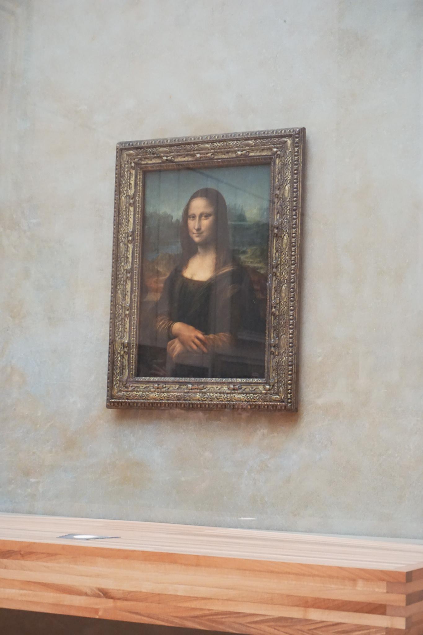The tiny Mona Lisa