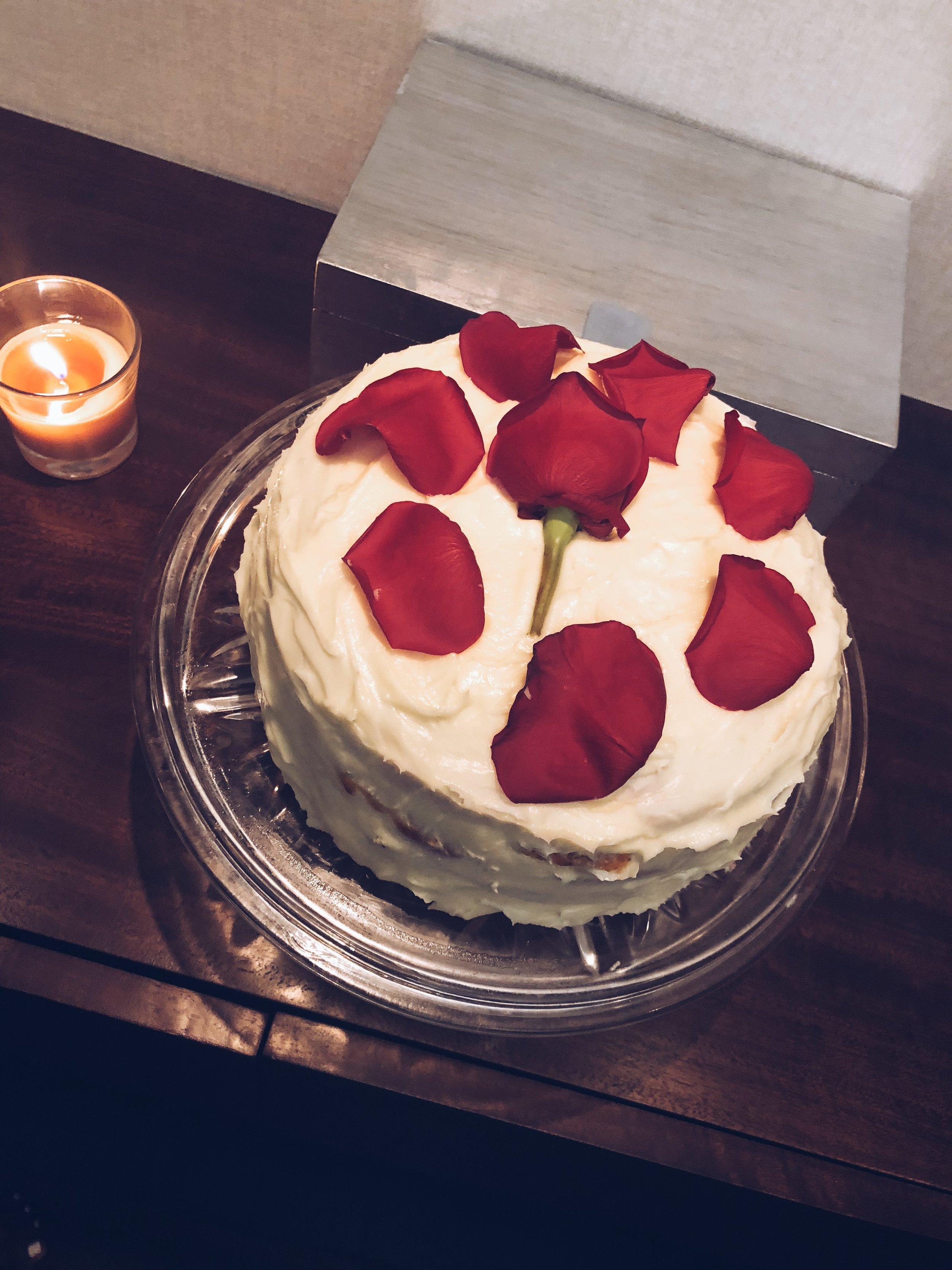 Allison made a cake!