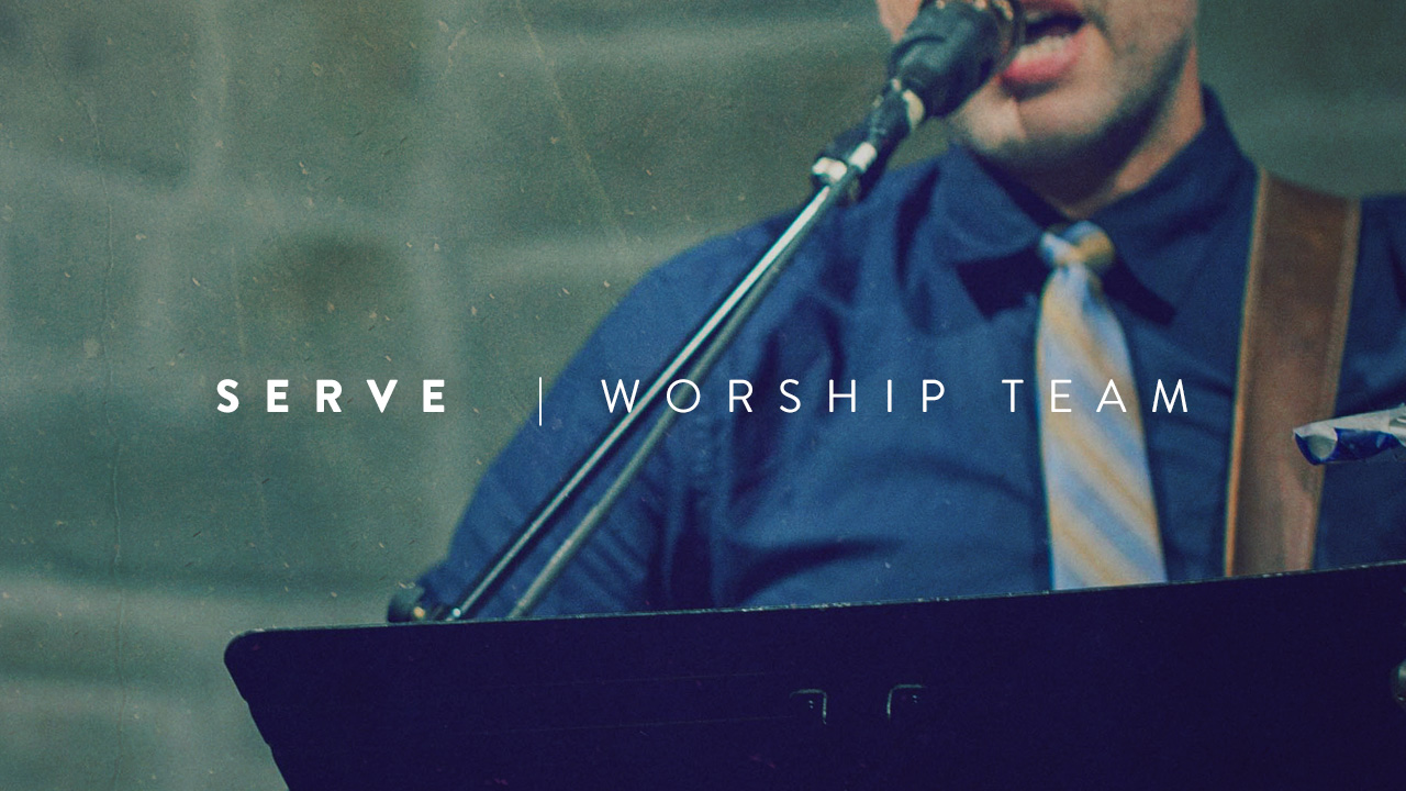 We want talented musicians with a heart for God to lead us in worship on Sunday mornings.