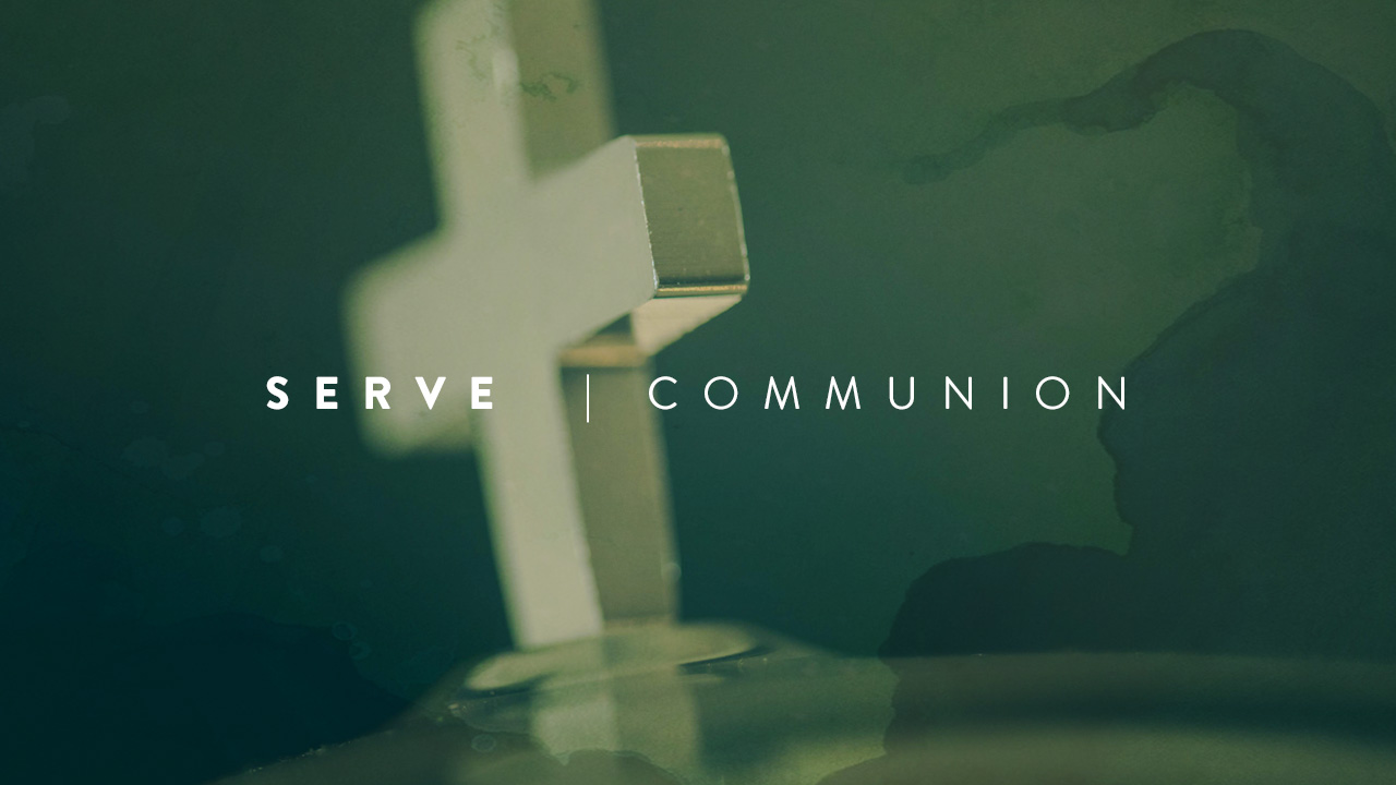 Serve by helping prepare communion for our worship services.