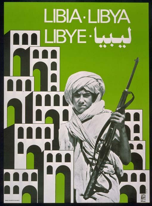 Alberto Blanco, Libya, 1983