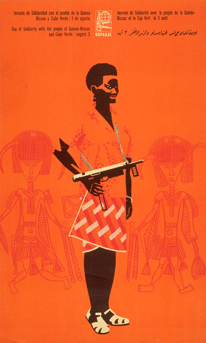 Berta Abelénda Fernández, Day of Solidarity with the people of Guinea-Bissau and Cape Verde, 1968