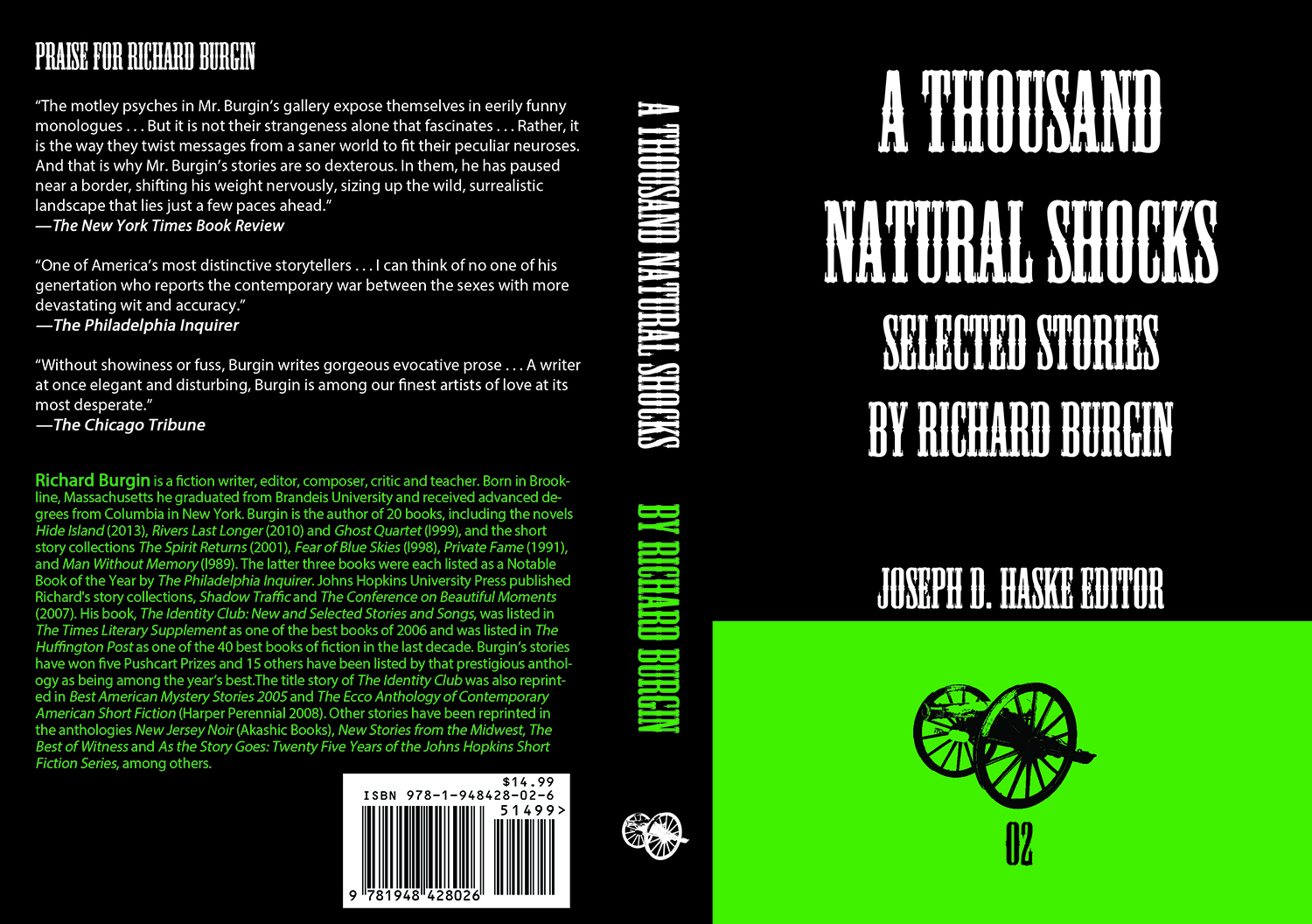 A Thousand Natural Shocks: A Collection of Stories  by Richard Burgin (Goliad Press: May 2018)
