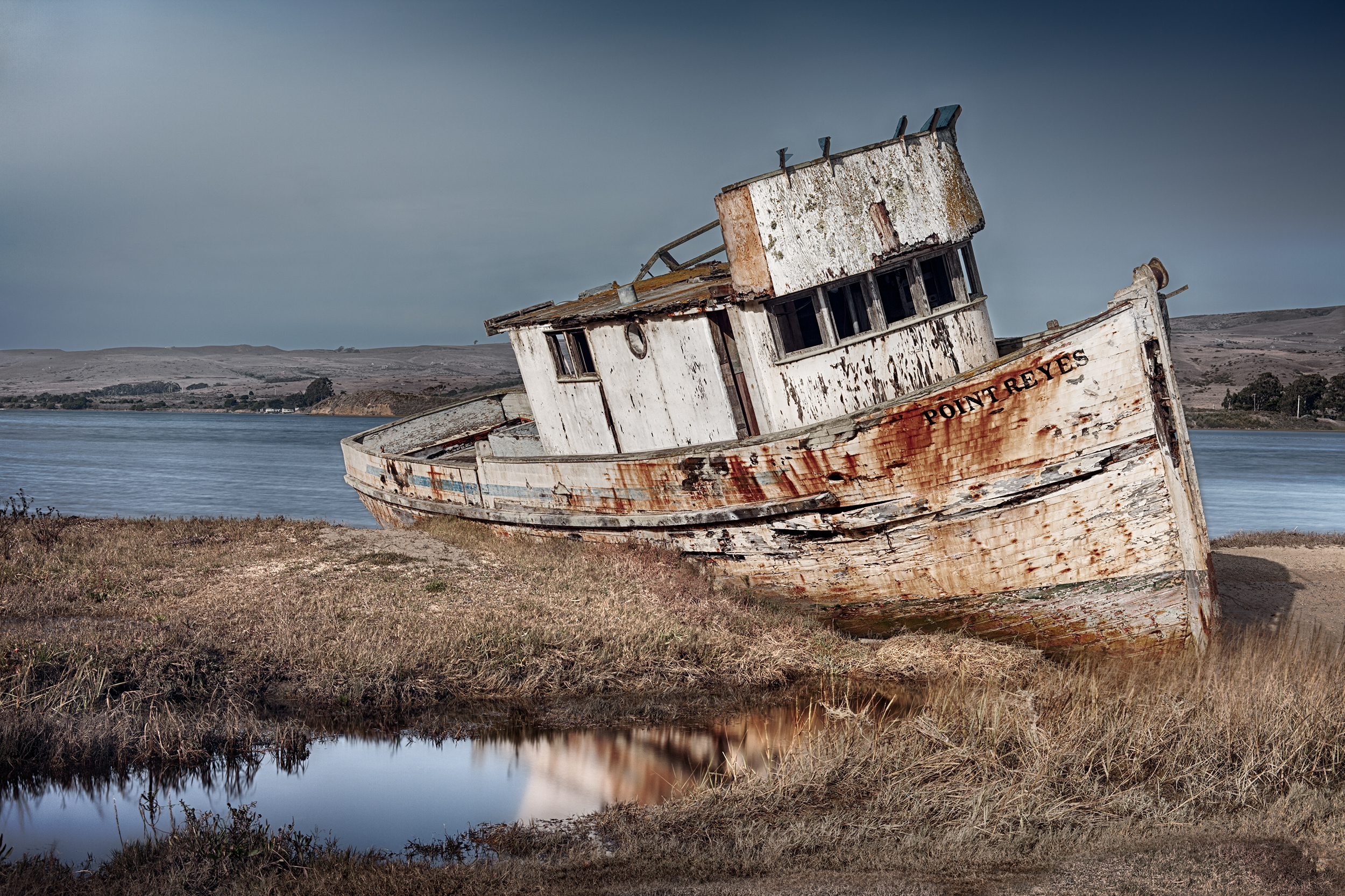 Point Reyes Shipwreck - Inverness (0059-65)