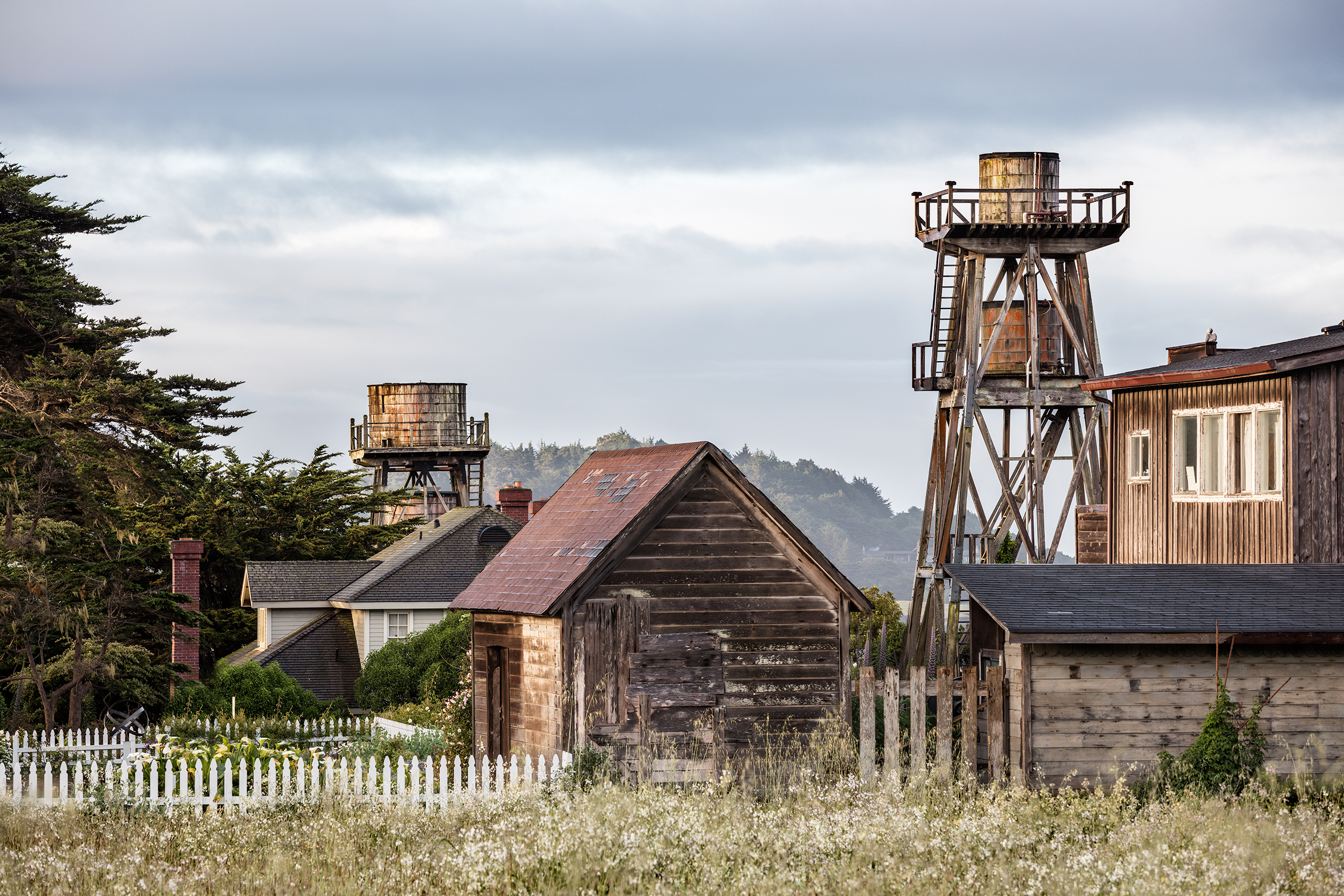 Mendocino Water Towers (2925)